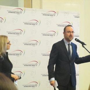 Jungtinės Karalystės ambasadorės pavaduotojas ir Jos Didenybės konsulas Martyn Cushing