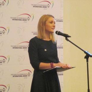 Nacionalinės DofE programos vadovė Inga Čėsnaitė, 2016