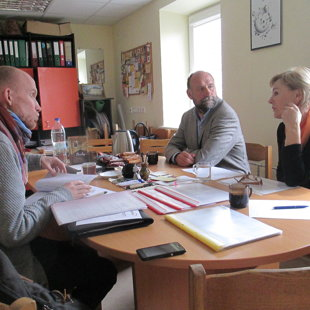 Pokalbis su programos vadovais - Rima, Kristina ir Raimondu