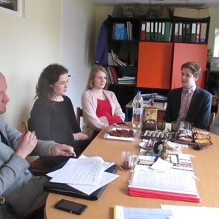 Pokalbis su DofE dalyviais - Migle, Ligita, Medardu ir Gabija
